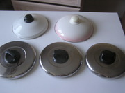 крышки металлические для сковородок и кастрюль 5шт.